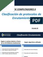 2. Clasificacion Protocolos Enrutamiento