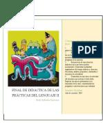 Didáctica de las  Prácticas del Lenguaje II. Final- Roldan Sandra