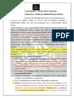 DIREITO ADMINISTRATIVO - Poderes Administrativos 2