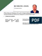 CV Miguel Angel Muñoz Castro