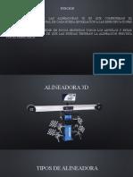 alineadora 3d
