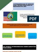 CONVENCIÓN INTERAMERICANA DE DERECHO INTERNACIONAL PRIVADO REALIZADA EN