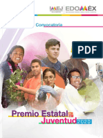 Premio Estatal de La Juventud Edomex 2020