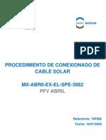 MX-ABR0-EX-EL-SPE-3982-C_Conexionado de cable solar Comentarios