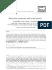 Short-sale constraints and stock returns-Lamont-2003