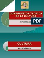 COMPRENSIÓN TEÓRICA DE LA CULTURA