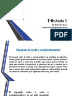 TRIBUTARIA II   25  DE ABRIL DE 2020