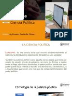 ciencia política en el Perú