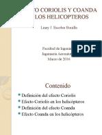 EFECTO CORIOLIS Y COANDA EN LOS HELICOPTEROS