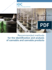 UNODC Identification and Analysis of Cannabis