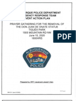 APD Emergency Response Team Event Action Plan