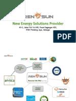 RenoSun Group Profile 2019