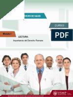 Complementaria 1 - Importancia del Derecho Romano.pdf