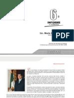 6to Informe de Gobierno Mario Marin Torres