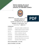 INFORME N°1 TAMAÑO DE PARTÍCULAS GRUPO 4