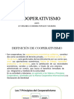 INDUCCION AL COOPERATIVISMO