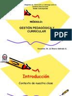 introducción gestión pedagógica y curricular