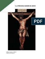 Novena a la Preciosa Sangre de Jesús