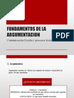 FUNDAMENTOS DE LA ARGUMENTACION FALACIAS