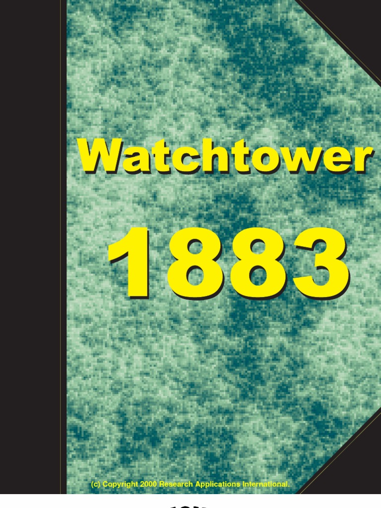 1883 Zion s Watch Tower and Herald of Christ s Presence  ea2805335