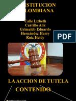LA ACCION DE TUTELA PRESENTACION UA.ppsx