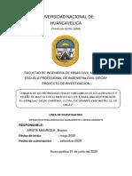 TRABAJO DEL PROYECTO DE INVESTIGACIÓN HASTA EL CAPITULO II DE ACUERDO AL FORMATO