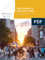 Pedestrian Fatalities Down, Study by City Health Finds