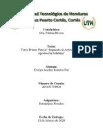 TAREA EVELYN ROMERO - I PARCIAL-ESTRATEGIAS FISCALES