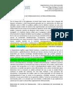 Analisis Organizaciones (interdependencia)