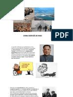 China después de Mao y Socialismos del siglo XXI