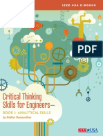 Critical Thinking Skills for Enginners Book 1
