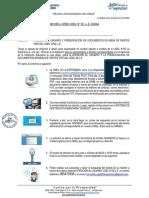 OFICIO MULTIPLE 008 - 2020 - ATENCIÃ_N AL USUARIO Y PRESENTACIÃ_N DE DOCUMENTOS