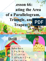 Lesson 66.Estimating the Area of a Parallelogram, Triangle, and a Trapezoid.pptx