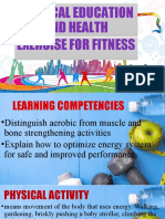 P.E G-11 PHYSICAL EDUCATION AND HEALTH