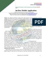 Complaint Box Mobile Application
