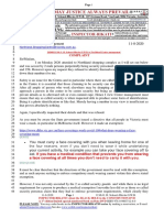 20200811-Mr G. H. Schorel-Hlavka O.W.B. to Northland Centre Management-COMPLAINT