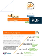 Informe Hottopic Foursquare IAB