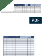 fixed asset registre book