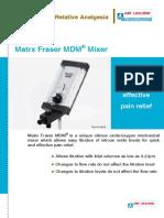 matrx fraser mdm65917