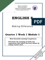 ENGLISH 8_Q1_Mod1_Making Difference.pdf