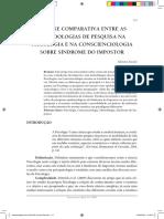Análise Comparativa entre as Metodologias de Pesquisa na Psicologia e na Conscienciologia sobre Síndrome do Impostor.pdf