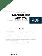 MANUAL D@ ARTISTA - KREMARIA RECORDS - 2020