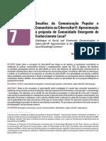 Desafios da Comunicação Popular e Comunitária na Cibercultur@