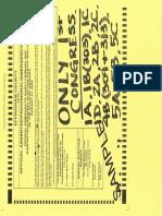 Democratic ballot 081120
