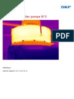 Temperature palier pompe N°3