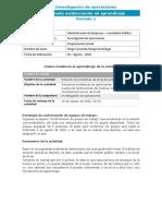 Taller Programación Lineal ENTREGA 10 DE AGOSTO