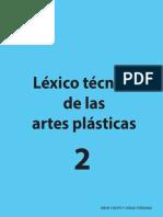 Léxico técnico de las artes plásticas 2