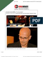 """Cubadebate » Osvaldo Doimeadiós_ """"La risa salva"""" » Print"""