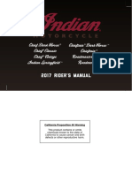 2017 Indian Riders Manual