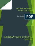 Anatomi Radiologi Tulang ekstremitas